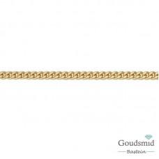 8 karaat gourmet collier 2.1mm 55cm