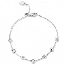 Rosa di Luca zilveren armband 623.433