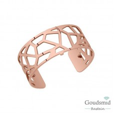 Les Georgettes armband 25mm rosekleurig giraffe