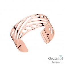Les Georgettes armband 25mm rosekleurig ruban