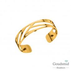 Les Georgettes armband XL 14mm goudkleurig ruban