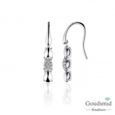 Infinitois zilveren oorhangers