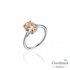 Infinitois zilveren ring
