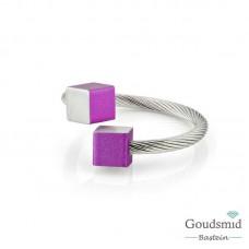 Clic Jewellery aluminium ring R4P