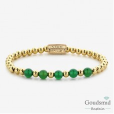 Rebel&Rose Yellow Gold meets Green Harmony RR-60062-G-S