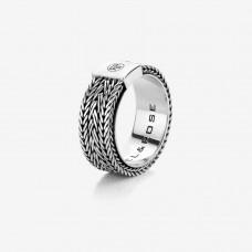 Rebel&Rose Zilveren Ring Triton RR-RG020-S-60